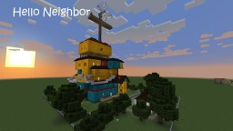 Hello Neighbor - play with a friend! Minecraft1.12.2 Minecraft Map & Project