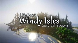 Windy Isles Survival Spawn! (LifeBoat and Builders Horizon)(Minecraft Marketplace) Minecraft Map & Project