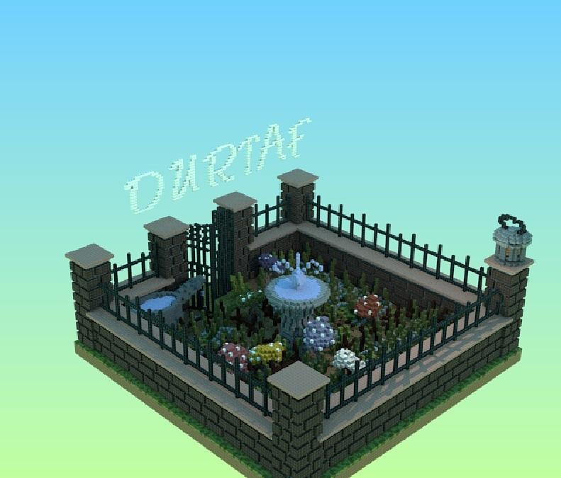 jardin minecraft Jardin of toon