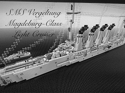 Magdeburg-Class Light cruiser 1:1 scale Minecraft Map & Project