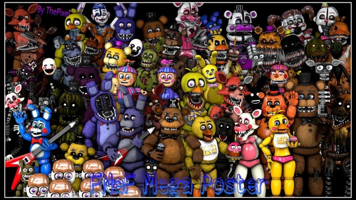 Popular Project : FNAF all maps + custom
