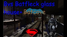 Batman residence+batcave 1.12   dawn of justice Minecraft
