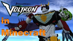 Voltron Legendary Defenders +lions 1.12  V.2 Minecraft Map & Project