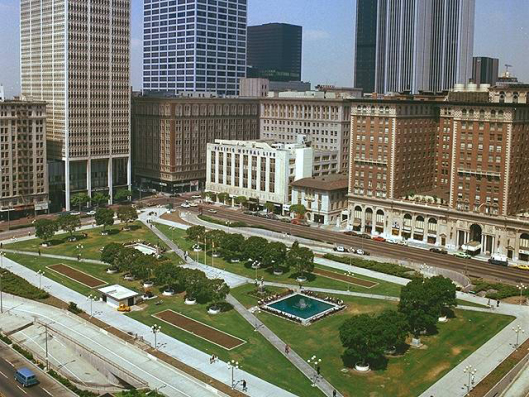 Pershing Square Real life