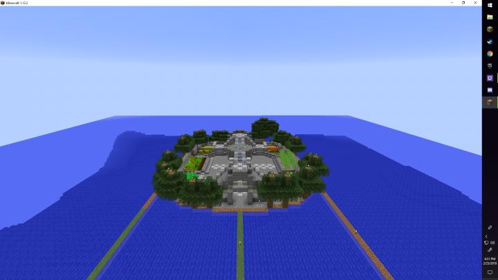Popular Server Project : Water Garden Base