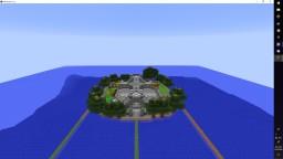Water Garden Base Minecraft Map & Project