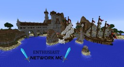 Enthusiast Network MC - Fun - Build - New Friends Minecraft Server