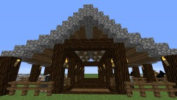 Sheep or Horse Stable Minecraft Map & Project