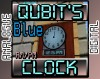 Qubit's AM/PM Analogue/Digital Clock - Blue Minecraft Texture Pack