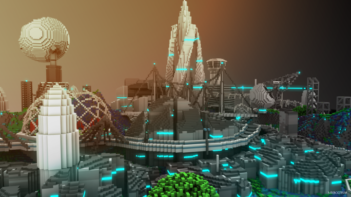 Popular Project : 2052, the space colony by Boubs