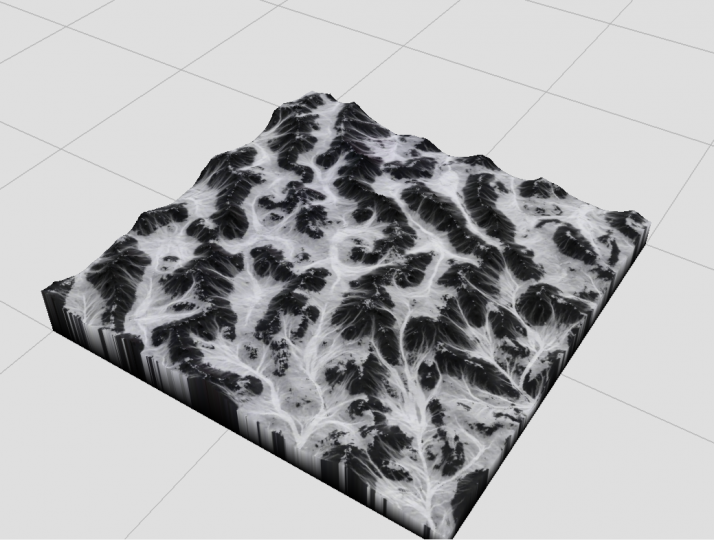Worldmachine rendered view