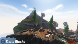 Port Homage : ThetaBlocks Spawn Hub Minecraft Map & Project