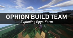 Exploding Eggs: Farm Minecraft Map & Project