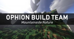 Mountainside Nature Minecraft Map & Project