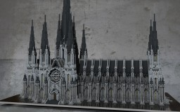 Gothic cathedral Minecraft