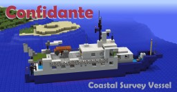 "Coastal Survey Boat - ""Confidante"" Minecraft Map & Project"