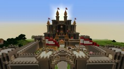 Fully Decorated Medieval Castle Minecraft Map & Project