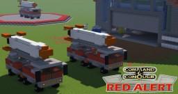C&C Red Alert V2 Truck Minecraft