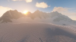 Snowy Peaks Minecraft Map & Project