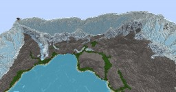 Ice Mountains Minecraft Map & Project