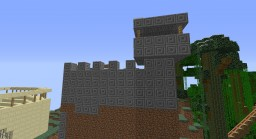 simple random fort Minecraft Map & Project