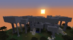 End Fortress with pillars Minecraft Map & Project