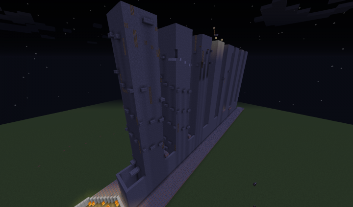 Different Angle of The Towers Higher Up