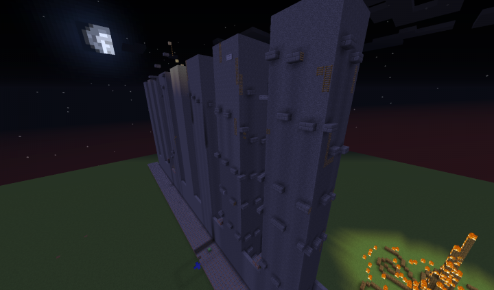 The Dropper Towers From the Right