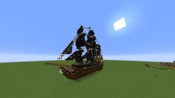 Black Pearl [Pirates of the Caribbean] By srMiau Minecraft Map & Project