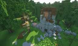 Duffy's Ford - Burgundian Castle + Hamlet Minecraft Map & Project