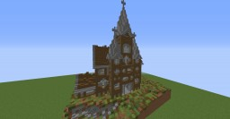 Medieval Church Minecraft Map & Project