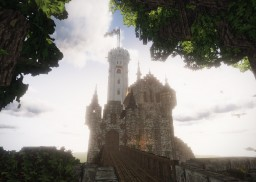 Schloss Lichtenstein/ Castle Lichtenstein #ConquestReforged Minecraft Map & Project