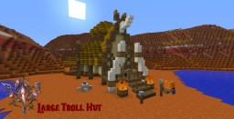 Large Troll Hut Minecraft Map & Project