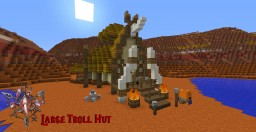 Wow Large Troll Hut Minecraft Map & Project