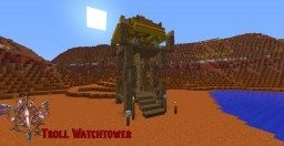 Wow Troll Watch Tower Minecraft Map & Project
