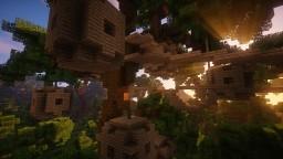 Village in the trees Minecraft