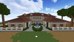 Beach Mansion! Minecraft Map & Project