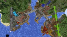 Diagonal Trade Port Minecraft Map & Project