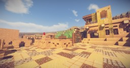 Walled Desert City Minecraft Map & Project