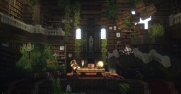 Explore abolished libraries Minecraft Map & Project