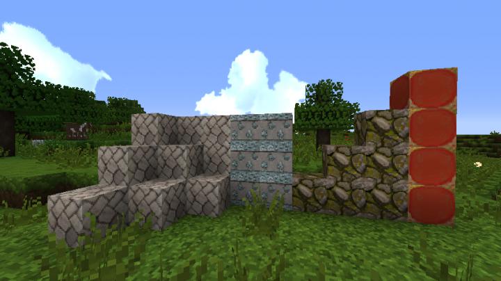 new blocks new stone blocks, new colored blocks