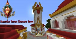 BloodElf Tower/Enchantment Room Minecraft