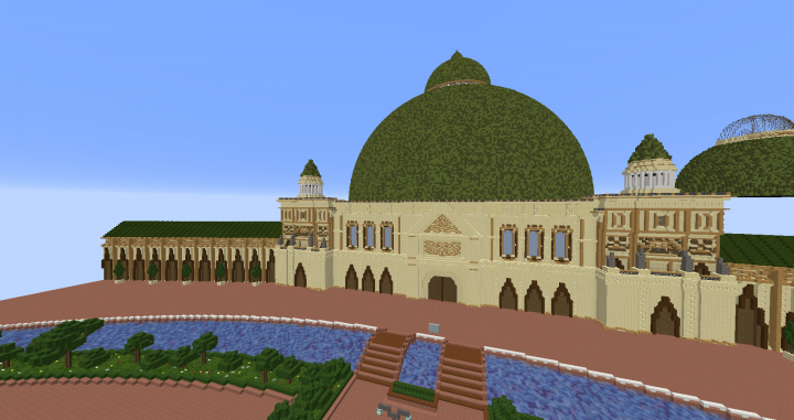 Popular Server Project : Theed Plaza Star Wars