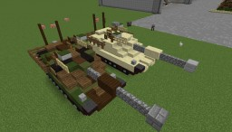 M1A2 Abrams / US-army Minecraft Map & Project