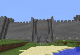 Castle gate(fully automated) Minecraft Map & Project