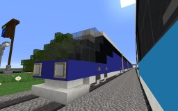 High-Speed Train Minecraft Map & Project