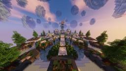 Fantasy Blue Themed Hub Minecraft Map & Project