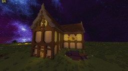 End brick - Medieval House + Download Minecraft Map & Project