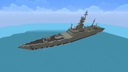 Admiral Gorshkov-class frigate Minecraft Map & Project