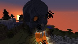 Skull Mountain Minecraft Map & Project